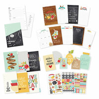 Carpe Diem - Recipe Collection - A5 Planner Inserts - Undated