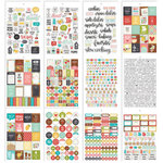 Simple Stories - Carpe Diem - Recipe Collection - Sticker Tablet