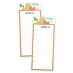 Simple Stories - Carpe Diem - Recipe Collection - Bookmark Tablet - Shopping List