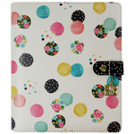 Simple Stories - Carpe Diem Collection - A5 Planner - Floral Dot - Binder Only