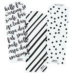 Simple Stories - Carpe Diem - Planner Essentials - Plastic Bookmarks