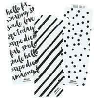 Carpe Diem - Planner Essentials - Plastic Bookmarks