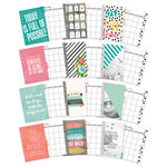 Simple Stories - Carpe Diem - Planner Essentials - Monthly Inserts - Undated
