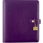 Simple Stories - Carpe Diem - A5 Planner - Grape