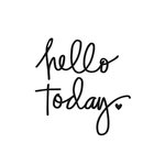 Simple Stories - Carpe Diem - Black Planner Decal - Hello Today