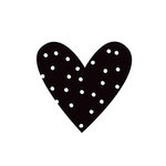 Simple Stories - Carpe Diem - Black Planner Decal - Heart