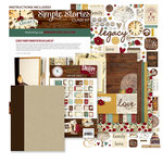Simple Stories - Legacy Collection - SNAP Binder Class Kit