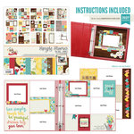Simple Stories - We Are Family Collection - 12 x 12 Layout Class Kit
