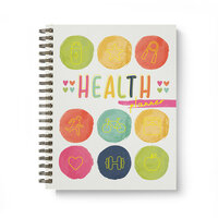 Carpe Diem - Health - Spiral Planner with Foil Accents