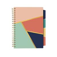 Carpe Diem - B5 Project Notebook - Floral Love Geometric