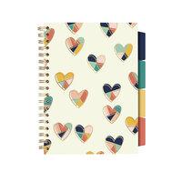 Carpe Diem - B5 Project Notebook - Floral Love Hearts