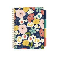 Carpe Diem - B5 Project Notebook - Floral Love Navy Floral