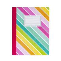Carpe Diem - Composition Notebook - Colour Wash Rainbow
