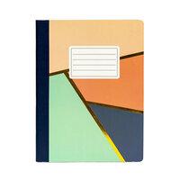 Carpe Diem - Composition Notebook - Floral Love Geometric