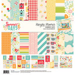 Simple Stories - Summer Days Collection - 12 x 12 Collection Kit