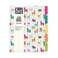 Carpe Diem - 5 Subject Reversible Dividers - Colour Wash