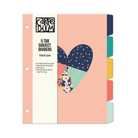 Carpe Diem - 5 Subject Reversible Dividers - Floral Love