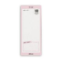 Carpe Diem - Magnetic To Do List - Ballerina Pink