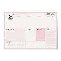 Carpe Diem - Weekly Planner Pad - Ballerina Pink - Undated