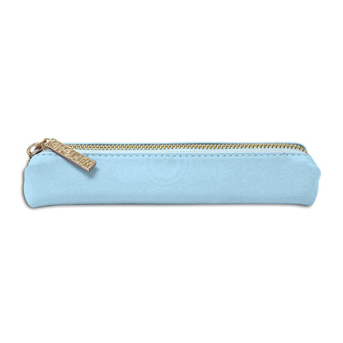 Carpe Diem - Slim Pencil Case - Sky Blue