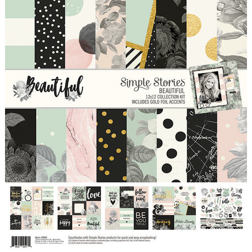 Simple Stories - Beautiful Collection - 12 x 12 Collection Kit