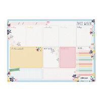 Carpe Diem - Weekly Planner Pad - Ditsy Floral - Undated