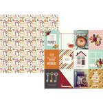 Simple Stories - Vintage Blessings Collection - 12 x 12 Double Sided Paper - 3 x 4 Journaling Card Elements