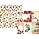 Simple Stories - Vintage Blessings Collection - 12 x 12 Double Sided Paper - 4 x 6 Vertical Elements