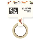 Simple Stories - Vintage Blessings Collection - Washi Tape - Vintage Birds