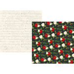 Simple Stories - Very Merry Collection - Christmas - 12 x 12 Double Sided Paper - Comfort and Joy