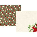Simple Stories - Very Merry Collection - Christmas - 12 x 12 Double Sided Paper - Season's Greetings
