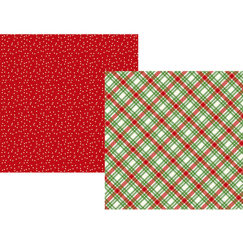 Simple Stories - Very Merry Collection - Christmas - 12 x 12 Double Sided Paper - Christmas Cheer