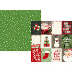 Simple Stories - Very Merry Collection - Christmas - 12 x 12 Double Sided Paper - 3 x 4 Journaling Card Elements