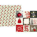 Simple Stories - Very Merry Collection - Christmas - 12 x 12 Double Sided Paper - 4 x 4 Elements