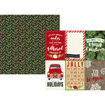 Simple Stories - Very Merry Collection - Christmas - 12 x 12 Double Sided Paper - 4 x 6 Vertical Elements