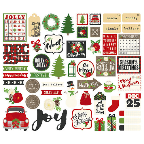 Simple Stories - Very Merry Collection - Christmas - Bits and Pieces