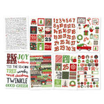 Simple Stories - Very Merry Collection - Christmas - Cardstock Stickers