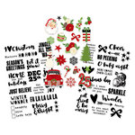 Simple Stories - Very Merry Collection - Christmas - Clear Stickers