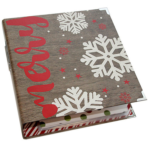 Simple Stories - SNAP Collection - Designer Binder - Holiday