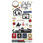 Simple Stories - O Holy Night Collection - Christmas - Simple Sets - Cardstock Stickers