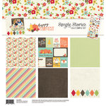 Simple Stories - Happy Harvest Collection - Simple Sets - 12 x 12 Collection Kit