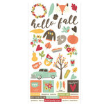 Simple Stories - Happy Harvest Collection - Simple Sets - Cardstock Stickers