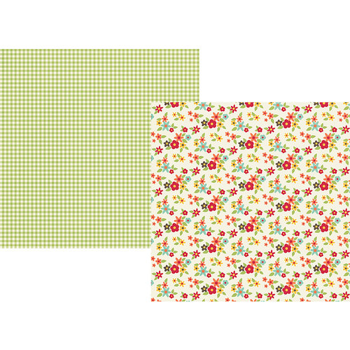 Simple Stories - Happy Harvest Collection - Simple Sets - 12 x 12 Double Sided Paper - One