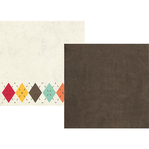Simple Stories - Happy Harvest Collection - Simple Sets - 12 x 12 Double Sided Paper - Two