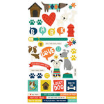 Simple Stories - Life is Ruff Collection - Cardstock Stickers