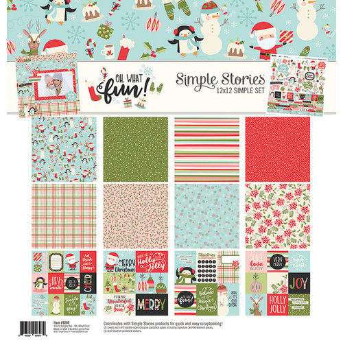 Simple Stories - Oh What Fun Collection - 12 x 12 Collection Kit