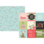 Simple Stories - Oh What Fun Collection - 12 x 12 Double Sided Paper - 4 x 4 Elements