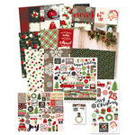 Simple Stories - Very Merry Collection - Christmas - 12 x 12 Collector's Essential Kit