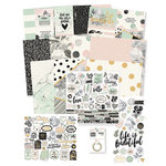 Simple Stories - Beautiful Collection - 12 x 12 Collector's Essential Kit with Foil Accents