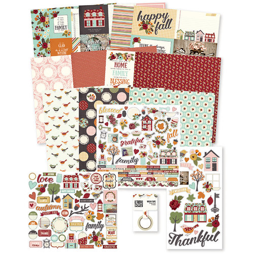 Simple Stories - Vintage Blessings Collection - 12 x 12 Collector's Essential Kit